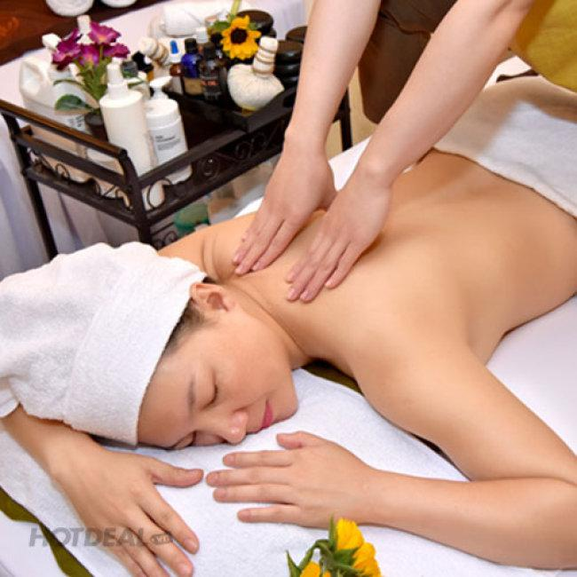 Massage Body + Đi Vitamin C Trắng Da Mặt, Tặng Triệt Nách Tại Yna Spa And Hair Salon