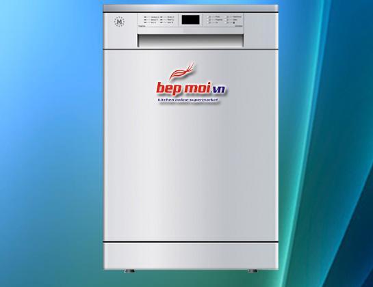 Máy rửa bát độc lập Malloca WQP12-J7201