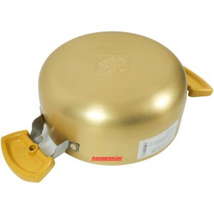Bộ nồi ANOD 3 chiếc màu vàng (18,22,26) SH8834