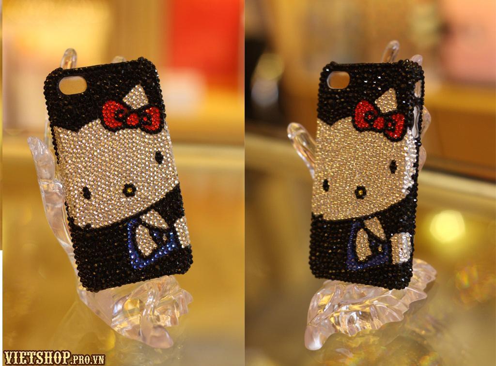 Ốp đá pha lê iPhone 4/4S