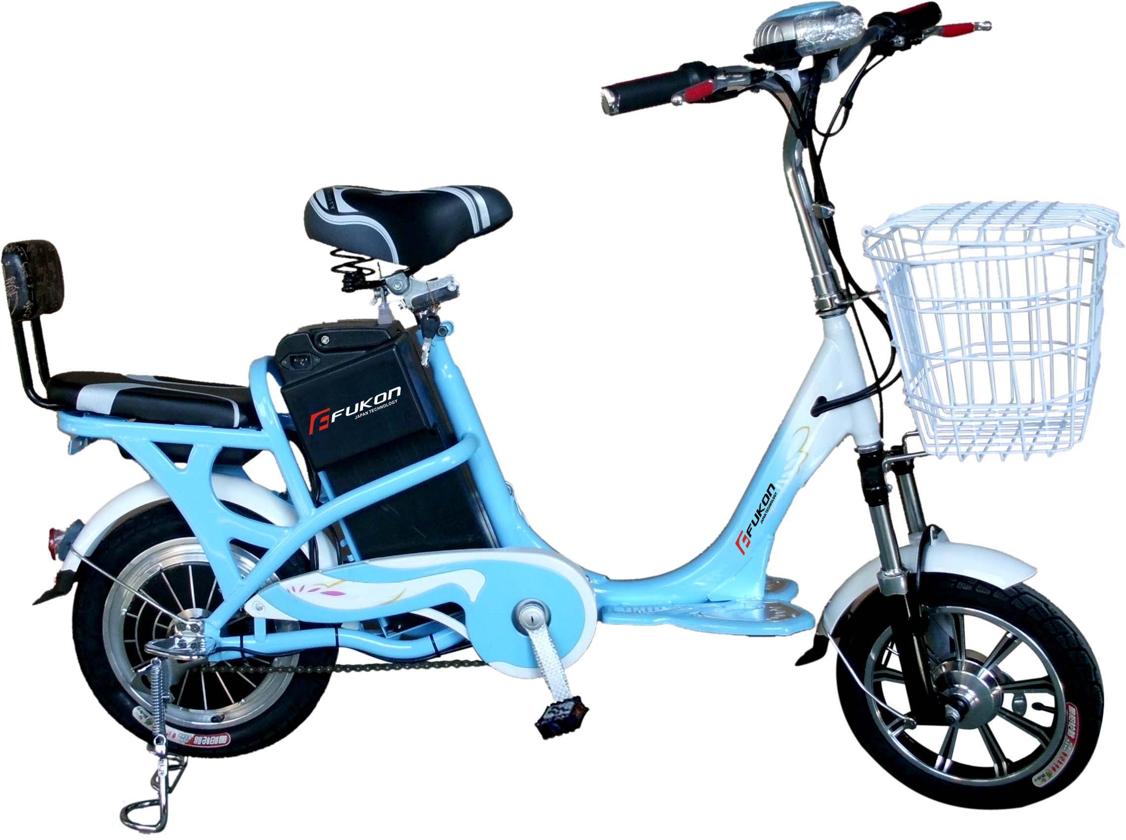 Xe đạp điện Tú Nhi Vành đúc DH -02