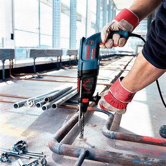 Máy khoan búa Bosch GBH 2-26 DRE (Xanh)