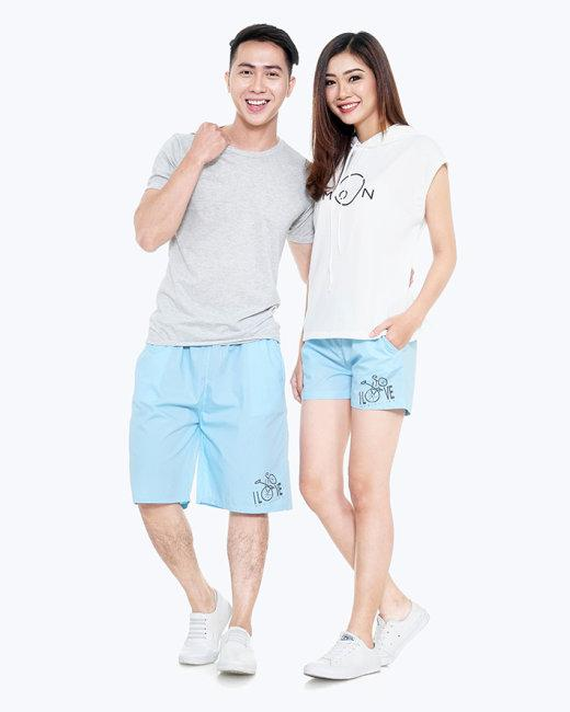 Combo Quần Short Couple Nam Nữ - TT Glorious
