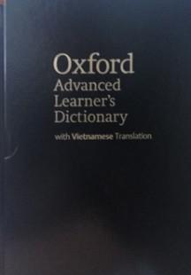 Oxford Advanced Learners Dictionary - Song ngữ Anh Việt. ( bìa cứng bọc da )