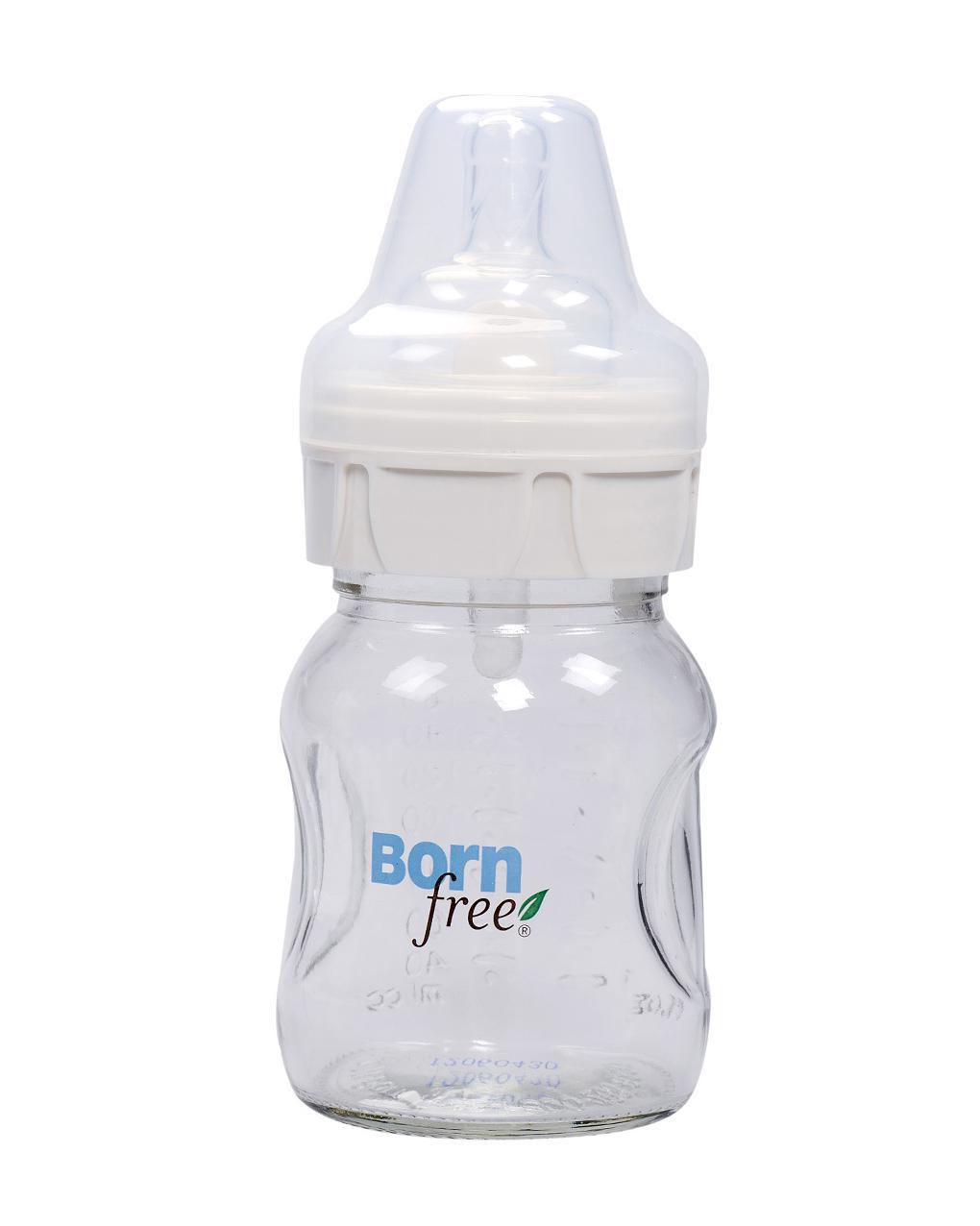 Bình sữa thủy tinh Born Free 160ml