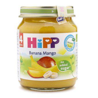 Dinh dưỡng đóng lọ chuối xoài HiPP 125g