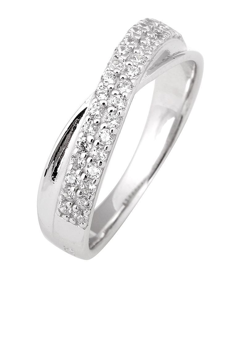 Nhẫn bạc đính đá PNJSilver