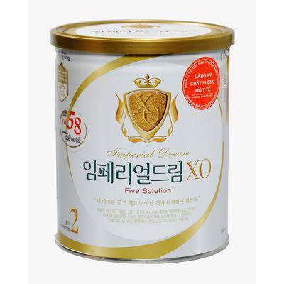 Sữa bột XO 2 từ 3 - 6  tháng 400g