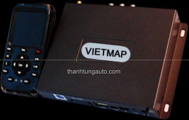 Thiết bị dẫn đường tích hợp màn hình theo xe vietmap 9100 Touch