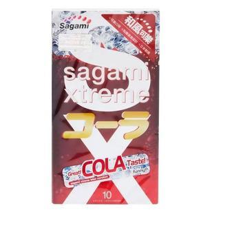bao cao su hương Coca Cola Sagami Xtreme Cola (1 hộp x 10 cái) - 0.03 Micromet