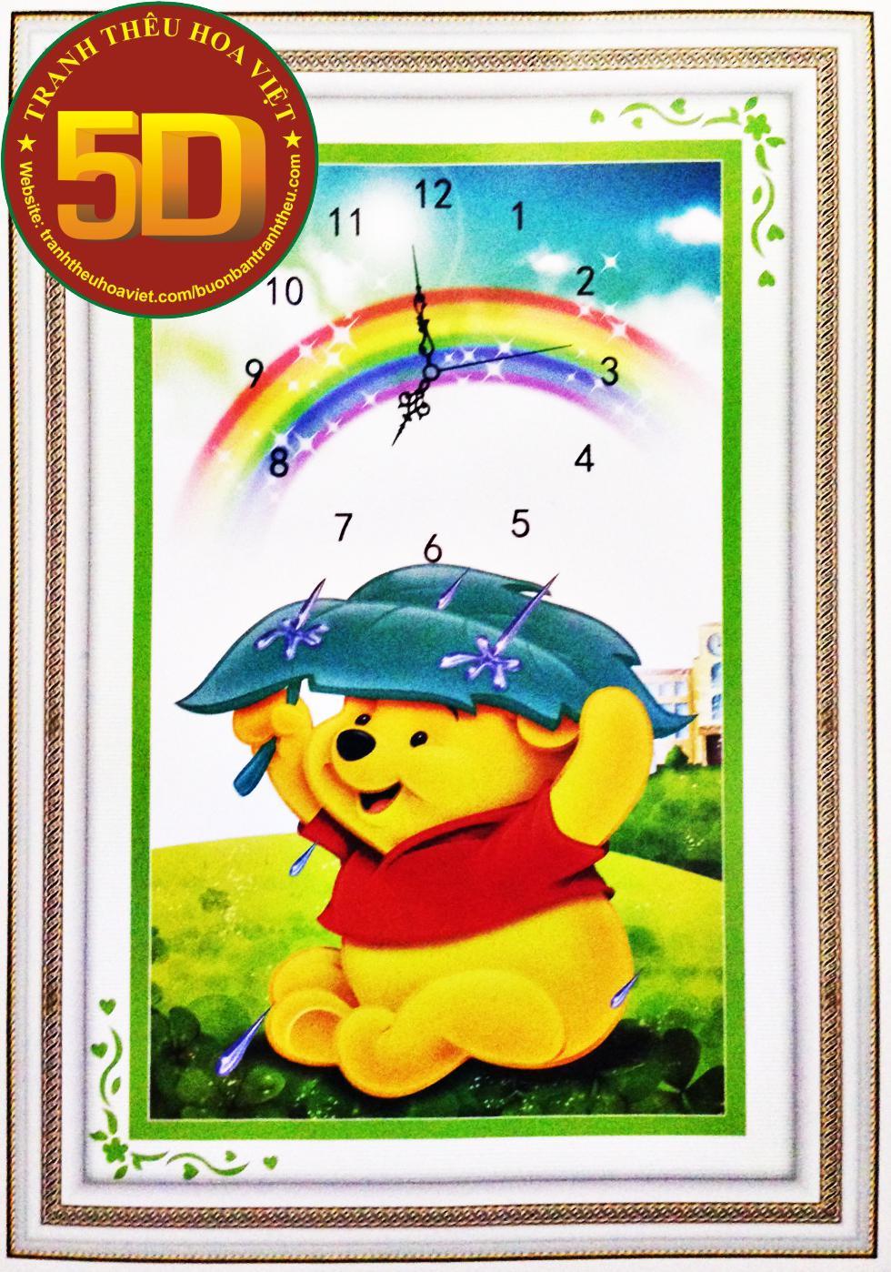 Đồng hồ gấu pooh