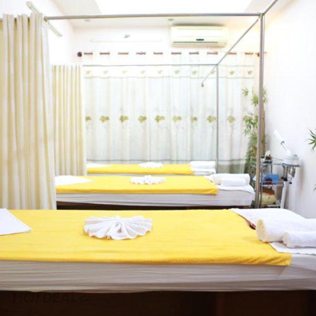 Miễn Tip - Massage Body + Chạy Collagen Tươi + Đắp Nạ Trà Xanh