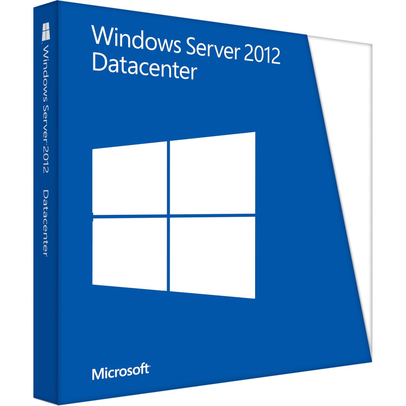 Win Svr Datacntr 2012 x64 English 1pk DSP OEI DVD 2 CPU P71-06769