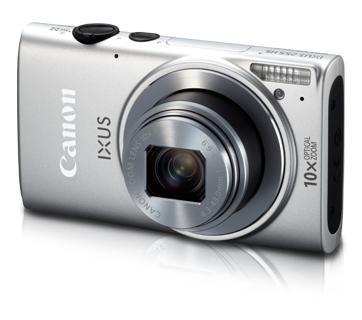 Máy ảnh Canon Digital IXUS 255 HS, Màu xám