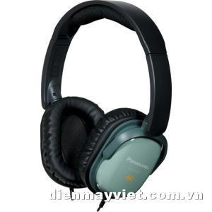 Tai nghe Panasonic RP-HC200 Noise Canceling Around-Ear Stereo Headphones (Green)