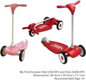 Xe scooter trẻ em Radio Flyer RFR 540