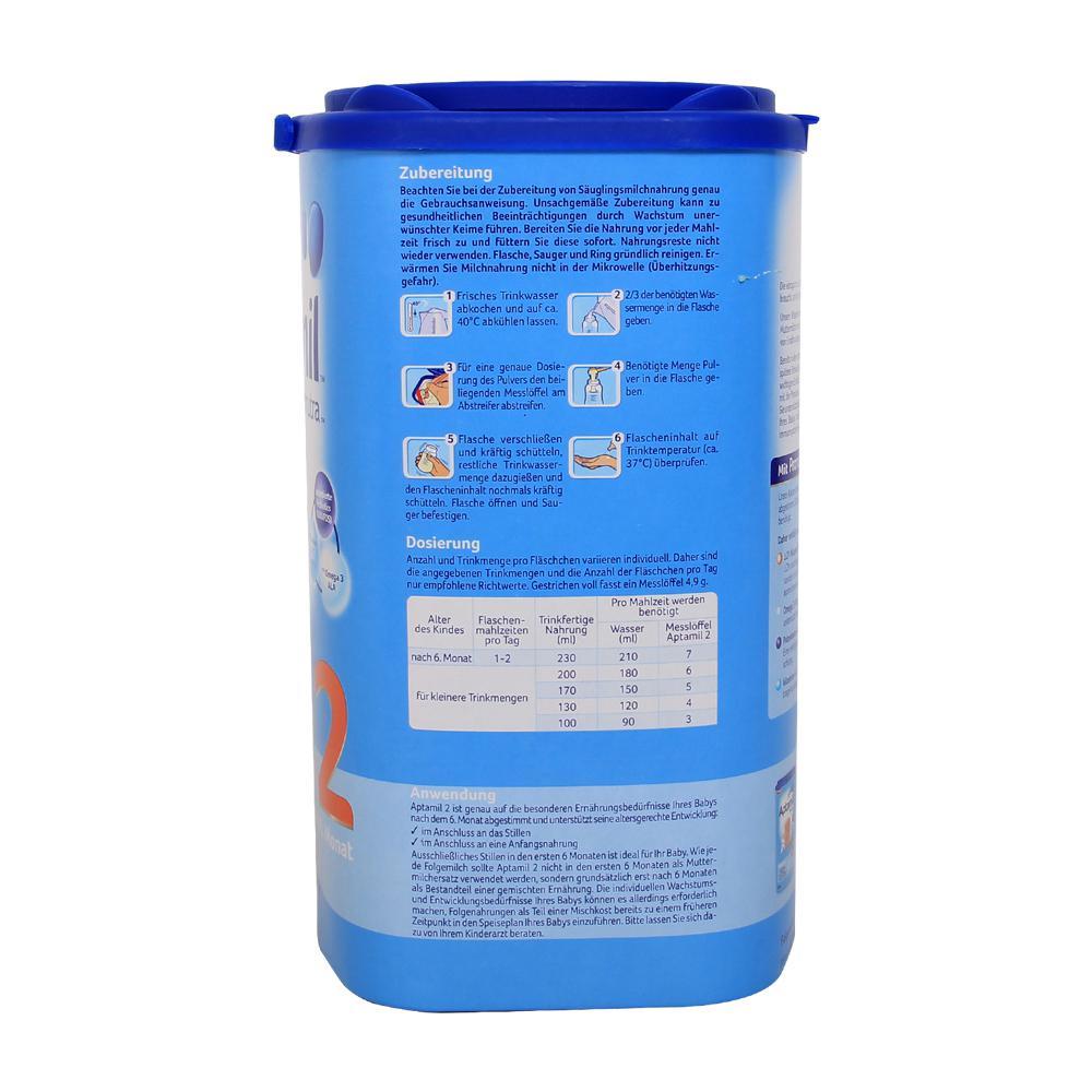 Sữa Aptamil Đức số 2 800g (6 - 12 tháng)