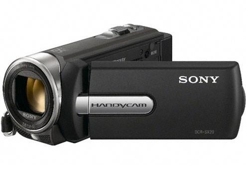 Máy quay Sony Handycam DCR-SX20EK/B