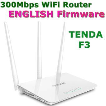 Bộ phát wifi Tenda F3 (Trắng)