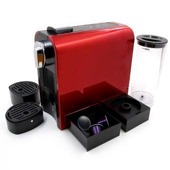 Máy pha cafe viên nén TEXET CM-195 (Đen phối đỏ)
