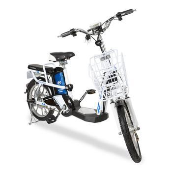 Xe đạp điện i-CITY plus Đen-Trắng