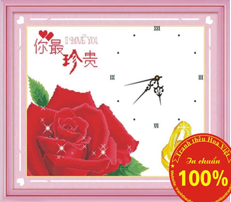 Đồng hồ hoa hồng
