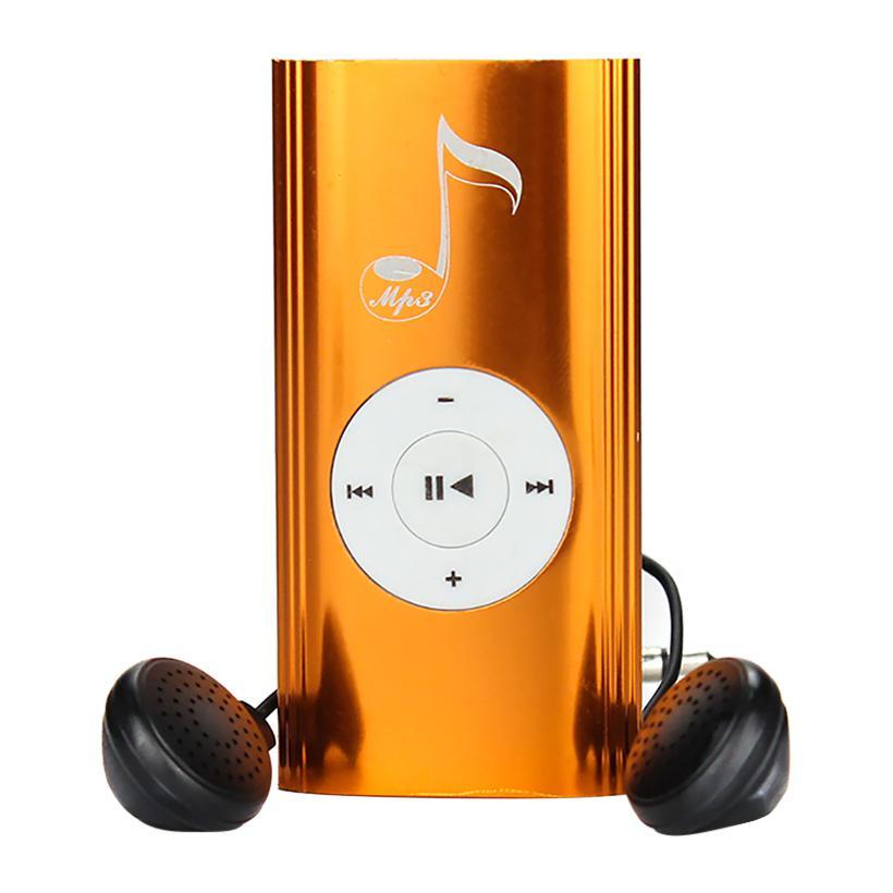 Máy nghe nhạc MP3 thân dài nốt nhạc Cam