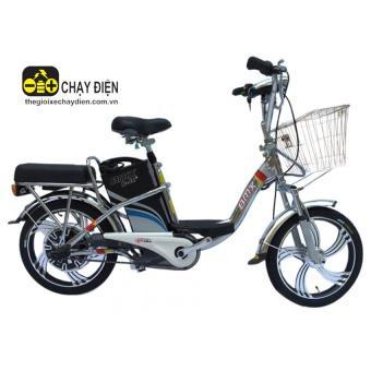 Xe đạp điện Bmx Inox 18 inch (Bạc)
