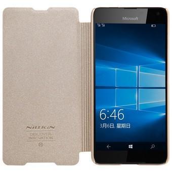 Bao da Nillkin cho Microsoft Lumia 650 (Vàng)