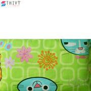 Gối lá đinh lăng N1 cho bé 04 THIVI (Mèo xanh lá)(..)