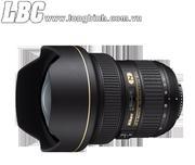 Lens NIKON Zoom AF-S NIKKOR 14-24mm f/2.8G ED (1.7x) (chính hãng Nikon VN - VIC)