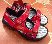 Giày Disney Car Đỏ Size 4-5t