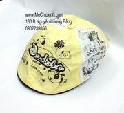 Mũ bê rê dudula vàng