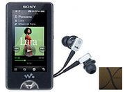 MÁY NGHE NHẠC MP3 SONY NWZ-X1050, 16GB MÀU ĐEN