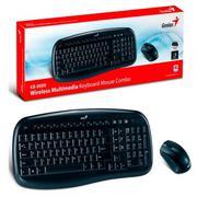 Bộ Bàn phím và chuột không dây Genius KB 8000X (Đen)
