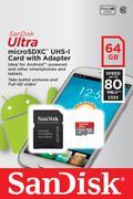 THẺ NHỚ SANDISK MICRO SDXC ULTRA III 64GB 80MB/S