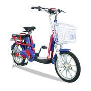 Xe đạp điện i-CITY plus Xanh-Đỏ