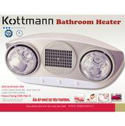 Đèn sưởi nhà tắm Hans 2 bóng K2B-HW-S