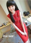 Đầm ôm màu đỏ