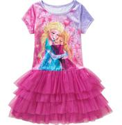 Disney Frozen Girls Velour Tiered Tutu Dress 7/8 và 10/12