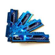 RAM Gskill RIPJAWS-X 32GB (4x8GB) DDR3 Bus 1600Mhz - (F3-1600C9Q-32GXM)