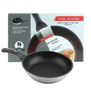 Chảo chống dính 3 đáy 24cm Fivestar dùng bếp từ