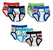 Disney - Toddler Boys´ Pixar Favorite Characters Underwear, 7-Pack (size 4t)