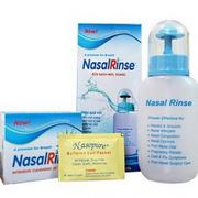Bình rửa mũi NasalRinse kèm 10 gói muối