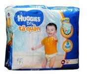 Tã quần Huggies Dry XL62