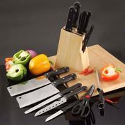 Bộ dao kéo 7 món kèm hộp gỗ tiện lợi