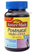 Vitamin sau sinh Nature Made DHA (60 viên)