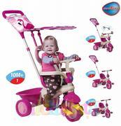 Xe 3 bánh Smart Trike (cảm ứng) (Flamingo) (DH)