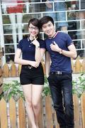 Áo Thun Couple Hàn Quốc