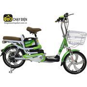 Xe đạp điện Bmx Classic nhún sau 18 inch (Xanh lá)